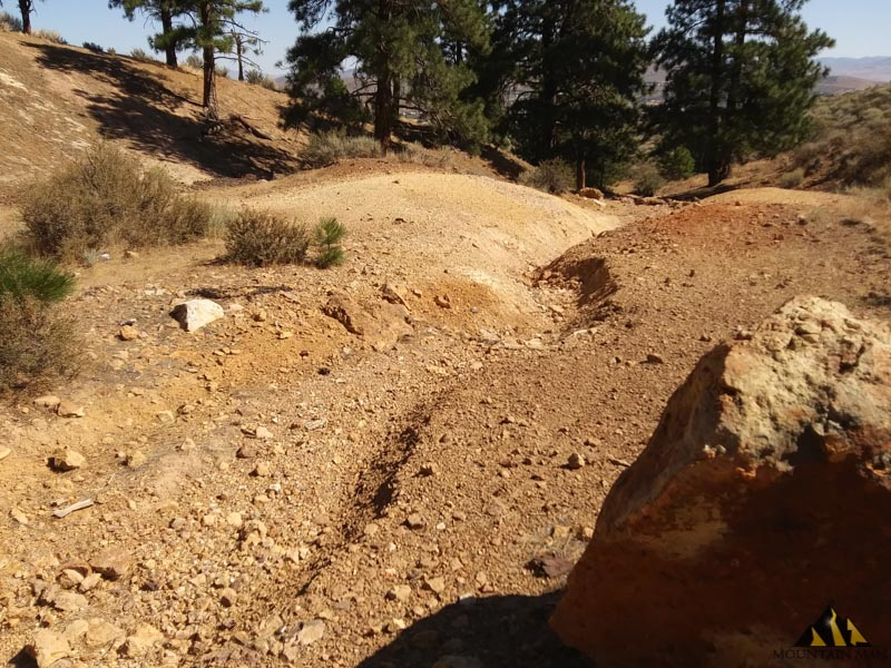 Take a look at the tailings pile here.