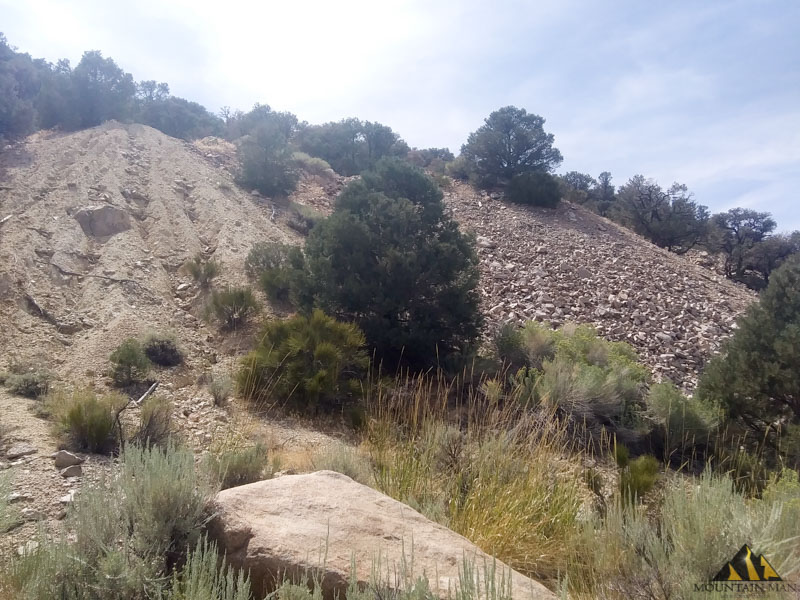Another view of the tailings piles.